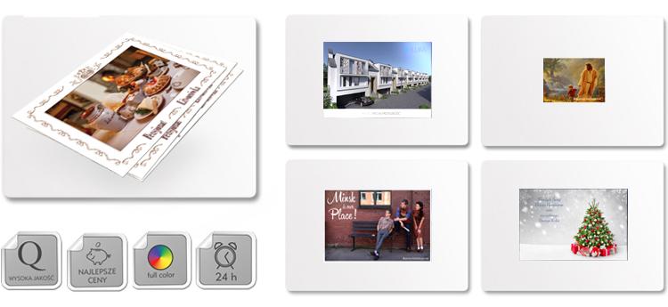 Wydruk kartek pocztowych