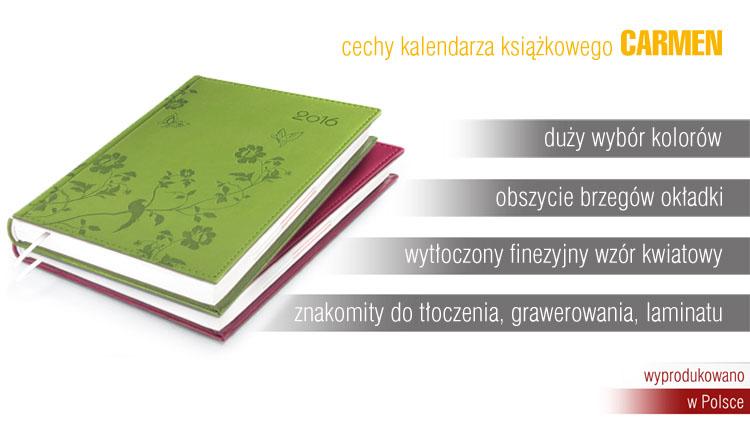 Vivella flowers -kalendarz książkowy z kwiatami