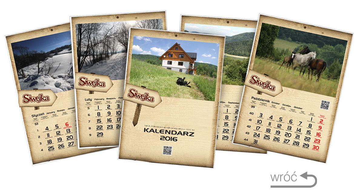 kalendarze projekt