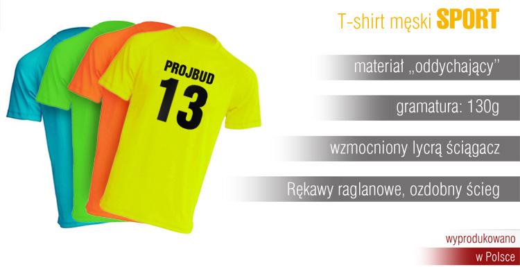 5c0dd83a1 T-shirt męski SPORT - T-shirty - Extrema - zaproszenia ślubne ...