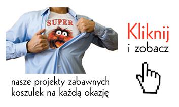 Kliknij i zobacz projekty koszulek