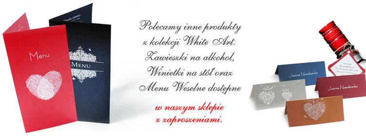 Zaproszenie WhiteArt 01