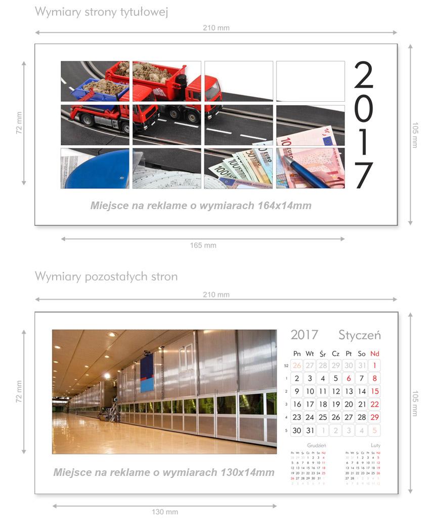 szablon kalendarza biurkowego tygodniowe kalendarium