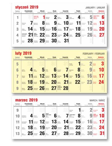 Przykłady Kalendariów Do Kalendarzy Trójdzielnych Extrema