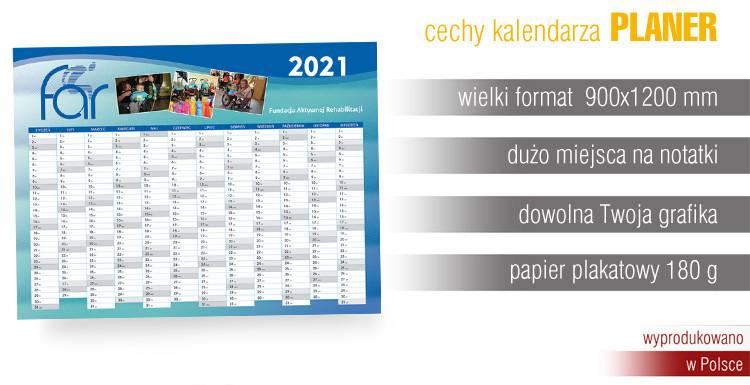 największy wielki olbrzymi kalendarz