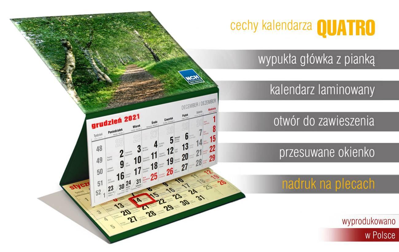 kalendarz trójdzielny wypukła główka kraków