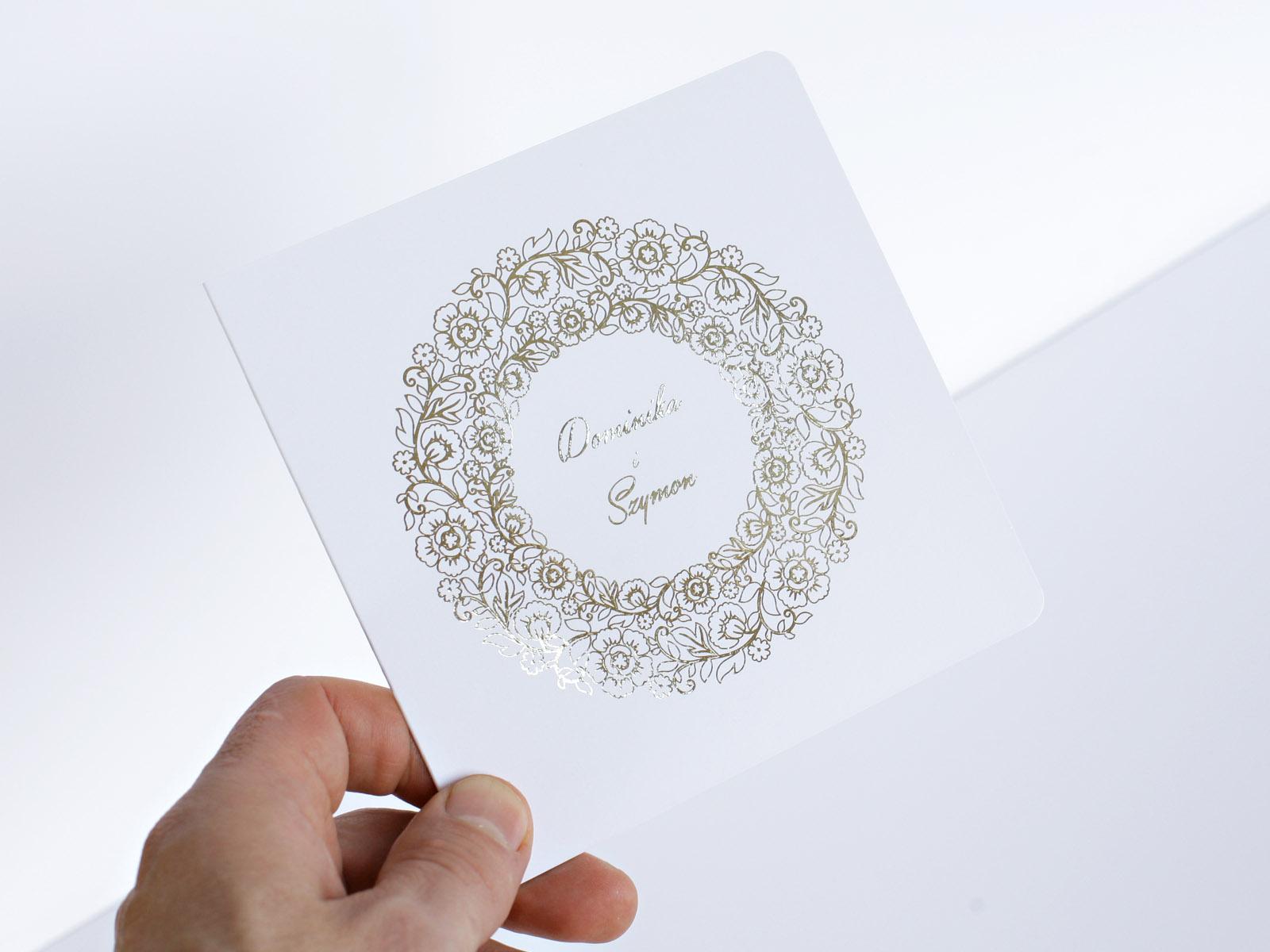 Gold Art Nasza Najnowsza Kolekcja Zaproszeń ślubnych Extrema